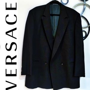 V2 by Versace Wool Double Breasted Sports Jacket